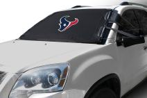 NFL Frost Guard Windshield Cover for Ice and Snow, Houston Texans   Standard Size Car Windshield Cover, Black   Fits Most Compact Cars, Sedans, Small Trucks, SUVs – 60 x 40 Inches
