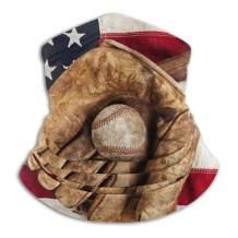 American Flag Face Mask Bandanas Neck Gaiter Warmer Windproof Mask Dust Protect Face Mask Bandana