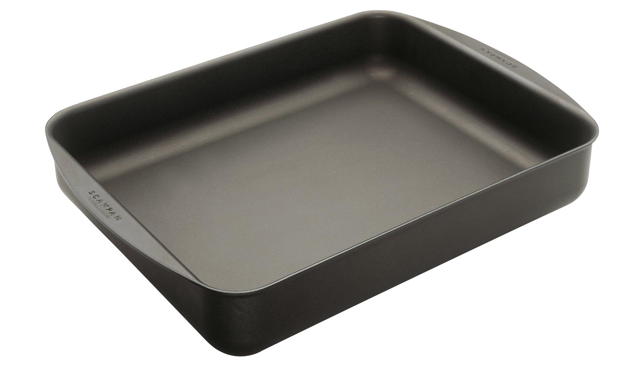 "Scanpan Classic Roasting Pan, 7.5 QT, 17"" x 12.5"""