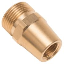Forney 75118 Pressure Washer Accessories, Female Long Screw Nipple, M22M-by-1/4-Inch Male NPT
