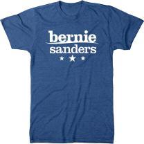 Bernie Sanders Simple Logo Men's Modern Fit Tri-Blend T-Shirt