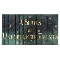 Juniper Books Lemony Snicket's A Series of Unfortunate Events | Thirteen-Volume Hardcover Book Set with Custom Designed Dust Jackets | Author Daniel Handler