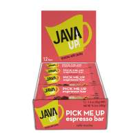 JavaUp Pick Me Up Espresso Bar, Cafe Mocha, 1.4 oz (12 Bars), Packaging May Vary