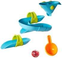 HABA Bathing Bliss Bathtub Ball Track Water Course (5 Piece)