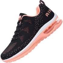 AUPERF Womens Air Shoes Walking Running Fashion Athletic Tennis Sports Comfortable Gym Sneakers (US5.5-10 B(M)