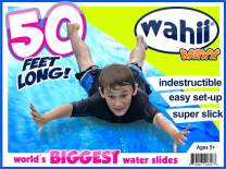 Wahii MAXX 50' x 5' - Super Slippery, 22oz Vinyl - Never Rip or Puncture