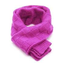 HappyTree Kids Winter Scarf Thick Cable Knit Warm Chunky Scarf for Women Teenagers Kids Toddler Girls Boys