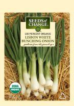 Seeds Of Change 7469 Certified Organic Lisbon White Bunching