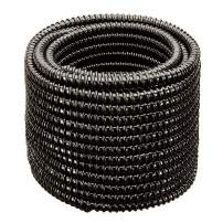 """HYDROMAXX Non Kink, Corrugated, Flexible PVC Water Garden Hose and Pond Tubing. Made in USA. Thick Wall. US/UL Sizing (2"""" Dia x 50 ft)"""