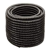 """HYDROMAXX Non Kink, Corrugated, Flexible PVC Water Garden Hose and Pond Tubing. Made in USA. Thick Wall. US/UL Sizing (1 1/2"""" Dia x 100 ft)"""