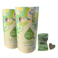 Organic Loose Leaf Tea Drops 20 Sweet Peppermint