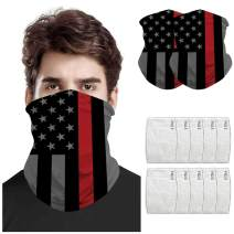 Yusongirl Sunscreen Neck Gaiter Scarf Anti-dust Face Cover Men and Women Balaclava Motorcycle Outdoor Sports Face Scarf