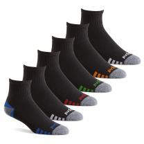 Prince Men's Athletic Quarter Socks (6 Pair Pack)