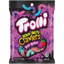 Trolli Sour Brite Crawlers, Very Berry Flavor, 5 oz