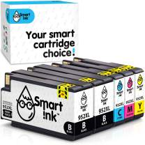 Smart Ink Compatible Ink Cartridge Replacement for HP 952XL 952 XL (2BK&C/M/Y 5 Pack Combo) to use with OfficeJet 8702 OfficeJet Pro 7720 7740 8210 8216 8710 8715 8720 8725 8727 8728 8730 8732M 8740