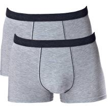 aoqininu Men's Seamless Comfort Soft Cotton Boxer Brief with Soft Waistband