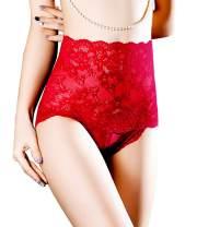 Dlsave Slutty Lingerie High Waist Panties for Women Knickers Valentine's Day Negligee Underwear