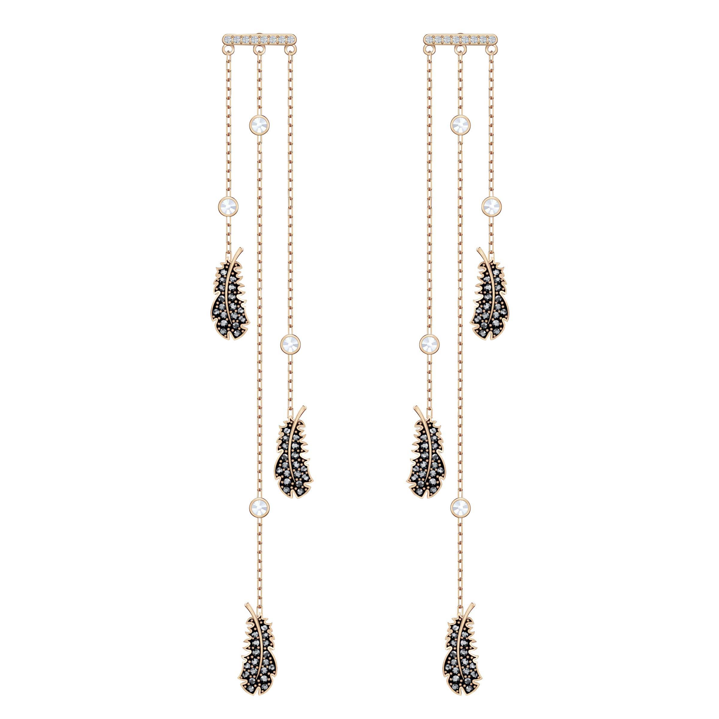 SWAROVSKI Women's Naughty Black/White Crystal Jewelry Collection