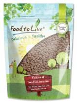 Red Lentils Whole, 1 Pound - Kosher, Raw, Vegan, Sproutable, Bulk