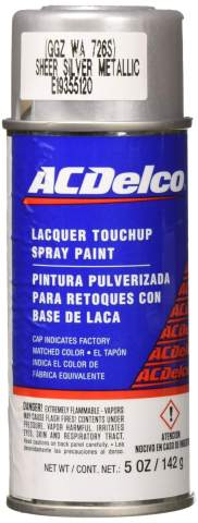 ACDelco 19355120 Sheer Silver Metallic (WA726S) Touch-Up Paint - 5 oz Spray