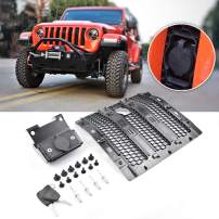 XBEEK Hood Lock of Jeep Anti-Theft Security Device for 2018, 2019, 2020 Jeep Wrangler JL JLU Rubicon, Sahara, Sport Accessories(Come with Key)