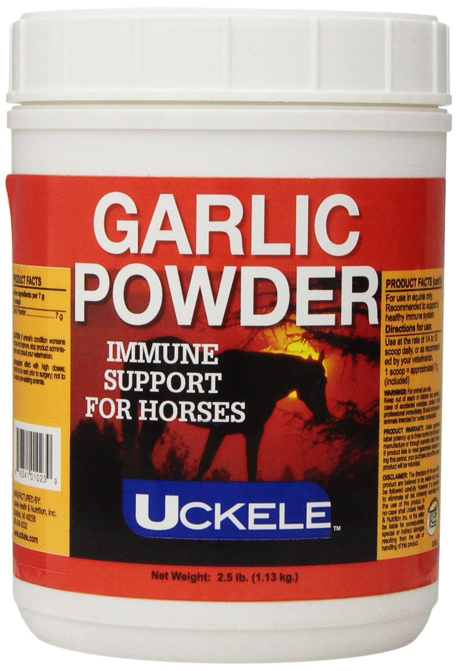 Uckele Garlic Powder Horse Supplement, 2.5-Pound