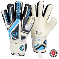 Renegade GK Talon Goalie Gloves with Microbe-Guard (Sizes 5-11, 3 Styles, Level 2) Pro-Tek Fingersaves & 3.5+3mm Hyper Grip | Versatile Glove for All Ages & Levels | Based in The USA