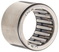 """INA SCH1616 Needle Roller Bearing, Caged Drawn Cup, Steel Cage, Open End, Inch, 1"""" ID, 1-5/16"""" OD, 1"""" Width, 11000rpm Maximum Rotational Speed, 10400lbf Static Load Capacity, 6500lbf Dynamic Load Capacity"""