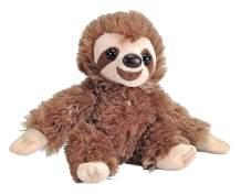 "Wild Republic Sloth Plush, Stuffed Animal, Plush Toy, Gifts for Kids, Hug'Ems 7"""