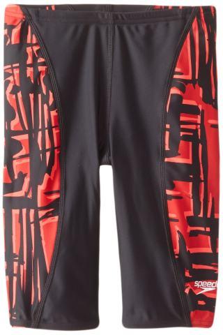 Speedo Men's Swimsuit Jammer Powerflex Eco Must Be It Team Colors-Discontinued