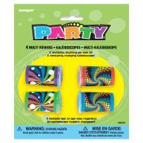 Swirl Kaleidoscope Party Favors, 4ct