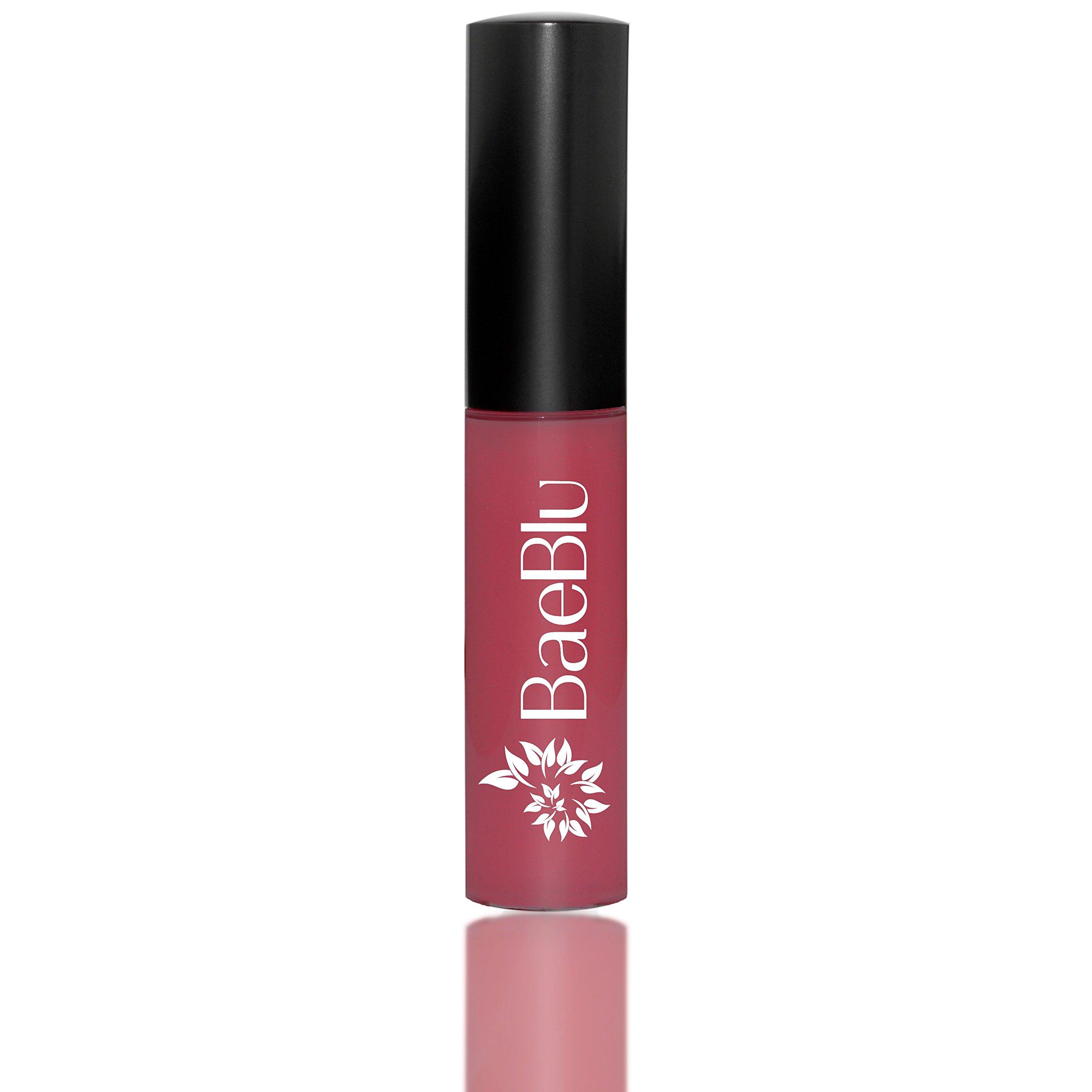 BaeBlu Organic Vegan Lip Gloss, 100% Natural Non-Toxic Moisturizing Ingredients, Berry Boop