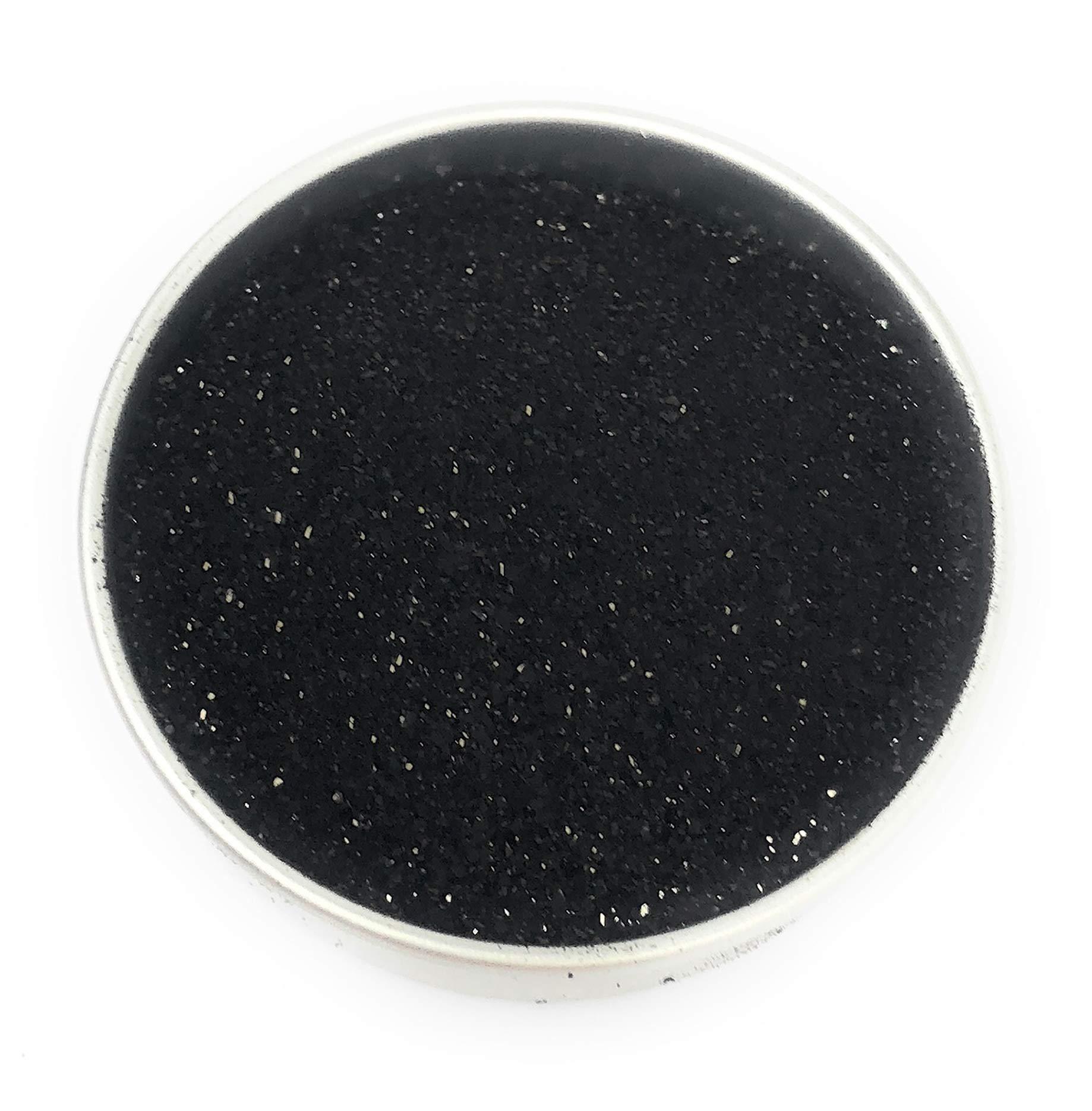 Ultimate Baker Black Petal Dust - Kosher Certified All Natural Matte Black Dusting Powder (1oz Black Cake Dust)