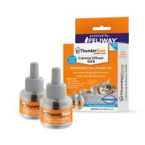 ThunderEase Cat Calming Pheromone Diffuser Refill | Powered by FELIWAY | Reduce Scratching, Urine Spraying, Marking, and Anxiety