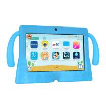 Xgody 7 Inch HD Android Kids Tablet for Kids Quad Core Android 8.1 1GB RAM 16GB ROM Touch Screen with WiFi Pre-Loaded 3D Game Dual Camera Blue