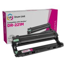 LD Compatible Drum Unit Replacement for Brother DR221 DR-221M (Magenta)