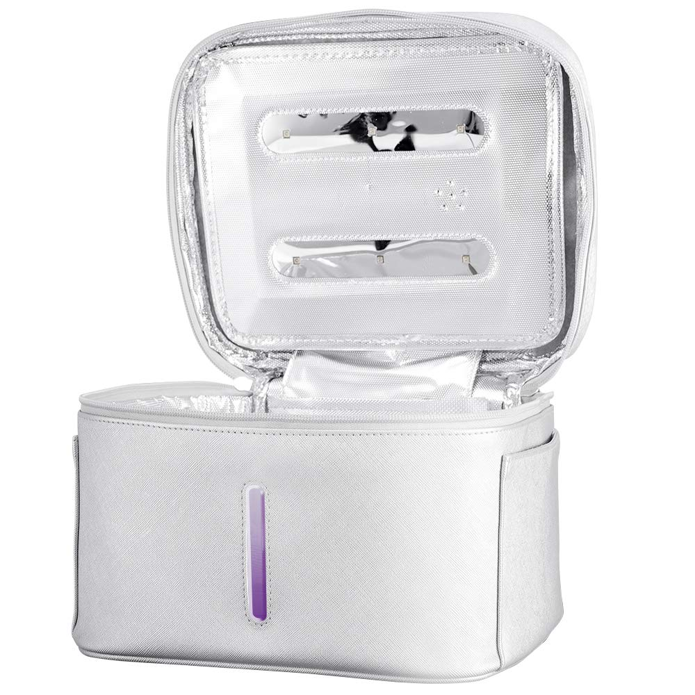 SEAAN U~V Sterilizer Bag Box, Waterproof, Portable, Rechargeable, for Baby Bottle/Underwear/Toothbrush/Beauty Tools/Toys
