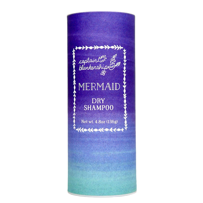Captain Blankenship Dry Shampoo Powder, Rose Scent, Absorbs Oil, Refreshes & Volumizes, 4.8oz