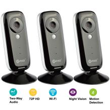 Contixo E1 Baby/Security Surveillance HD 720P WiFi Camera W/Full App Control, Night Vision 2-Way Audio, 100° Field View, Motion Detection & Smart Alerts - Best Gift