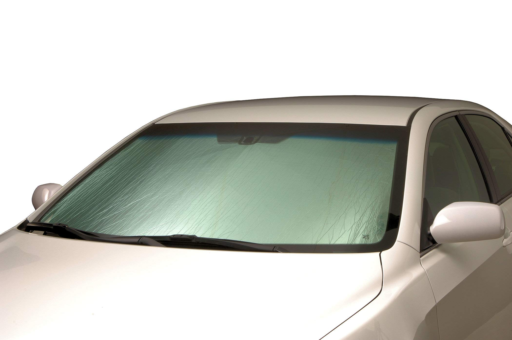 Intro-Tech VO-36 Silver Custom Fit Windshield Sunshade for Select Volvo XC60 Models