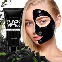 Blackhead Remover, Befayoo Bamboo Activated Charcoal Peel-Off Blackhead, Deep Cleansing Pore Blackhead Removal - Purifying Blackhead for Face and Nose (2.11 Fl.oz/60 Gram)