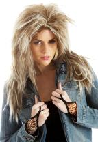 Tina Turner Wig 80's Womens Costume Wigs Rocker Wigs Women 80s Fancy Dress Accessories
