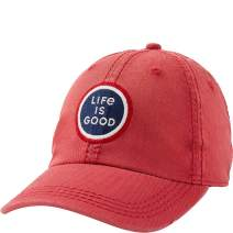 Life is Good Unisex-Adult Sunwashed Chill Cap