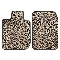 GGBAILEY D51248-F1A-LP Custom Fit Car Mats for 2016, 2017, 2018 Mazda MX-5 Miata Leopard Driver, Passenger, 2nd and 3rd Row Driver & Passenger Floor
