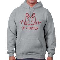 Heartbeat of A Hunter Hunting Deer Country Hoodie