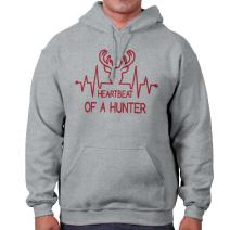 Heartbeat of A Hunter Hunting Deer Country Hoodie