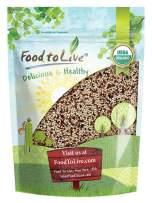 Organic Tri-Color Quinoa, 1 Pound — Non-GMO, Raw, Whole Grain, Non-Irradiated, Kosher, Vegan, Sproutable, Bulk, Three-Color or 3-Color Blend of White, Black and Red Quinoa