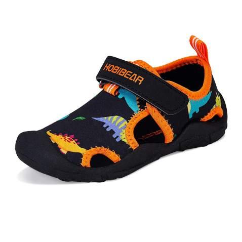 WateLves Girls Boys Water Shoes Quick Dry Slip Aqua Socks for Beach Swim  Pool Sandals Outdoor (Toddler/Little Kid)