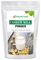 Cashew Milk Powder - Unsweetened & Unflavored - All Natural Milk Alternative - Perfect For Coffee, Smoothies, Cereal, Drinks & Baking - Raw, Vegan, Gluten Free, Non GMO, Kosher, & Dairy Free - 1 lb