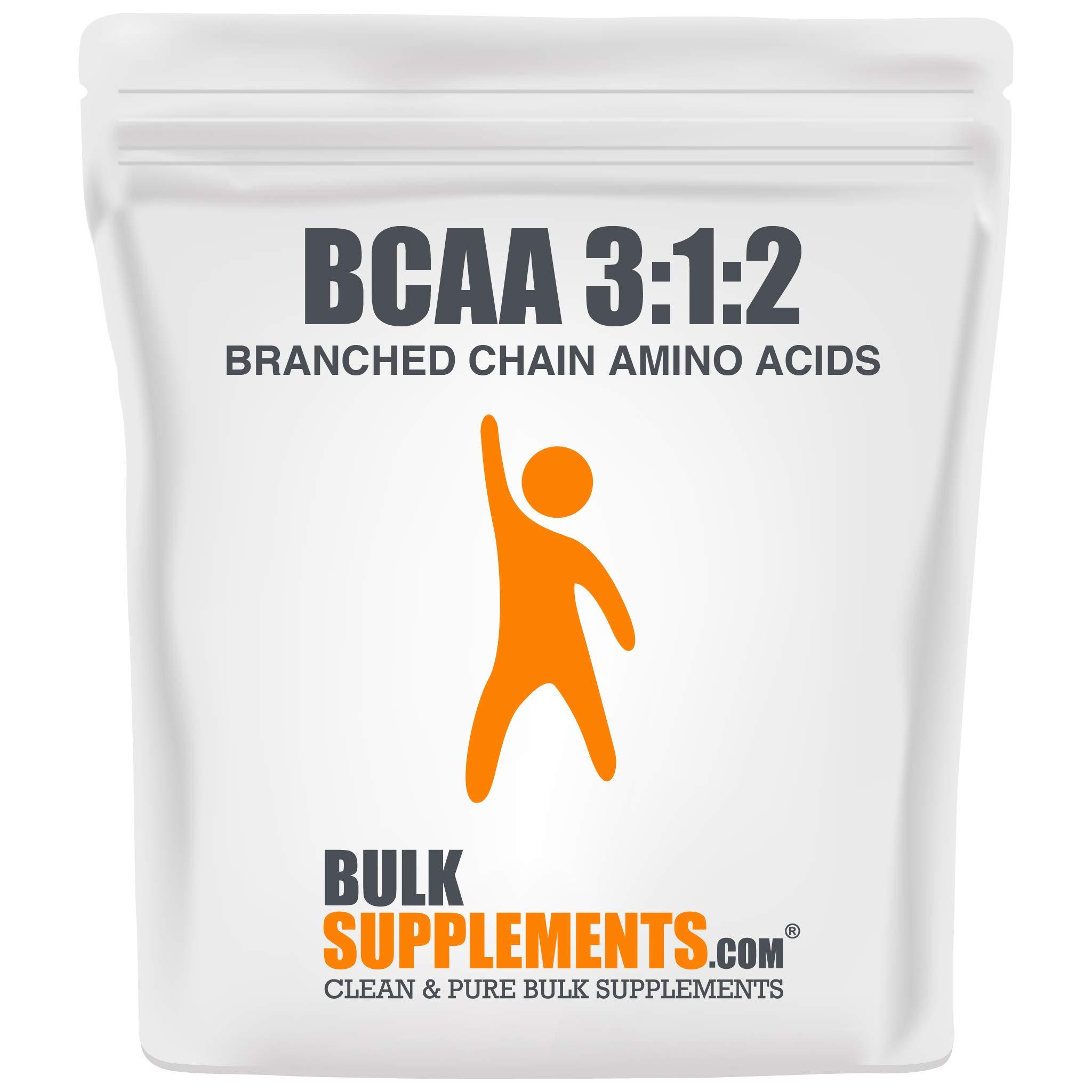Bulksupplements BCAA 3:1:2 (Branched Chain Amino Acids) Powder (1 Kilogram)